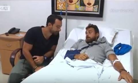 Survivor: Οι πρώτες εικόνες της Ειρήνης Κολιδά και του Μάριου Ιωαννίδη από το νοσοκομείο! (vid)