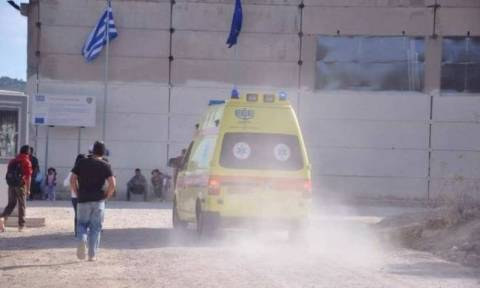 Syrian refugee self immolates over his stay in Chios, delays in asylum request