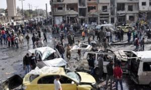 Συρία: Το ΙΚ ανέλαβε την ευθύνη για τη διπλή βομβιστική επίθεση στη Δαμασκό στα μέσα Μαρτίου