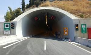 Αχαΐα: Παραδόθηκε το σύμπλεγμα των σηράγγων της νέας εθνικής οδού Πατρών – Κορίνθου