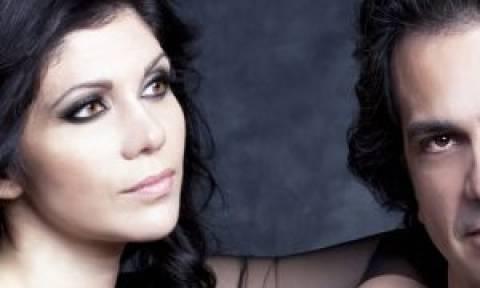 Η Νεκταρία Καραντζή και ο Βασίλης Τσαμπρόπουλος στο Μέγαρο Μουσικής