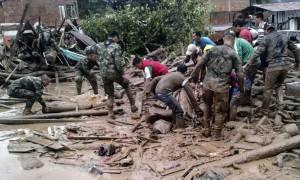 Εικόνες φρίκης στην Κολομβία: Ποτάμια λάσπης «κατάπιαν» τουλάχιστον 110 ανθρώπους (photos)