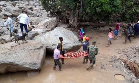 «Βιβλική» καταστροφή στην Κολομβία: Στους 234 ο αριθμός των νεκρών από την κατολίσθηση λάσπης (Pics)