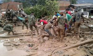 Ανείπωτη τραγωδία στην Κολομβία: Η λάσπη «έθαψε» 254 ανθρώπους (pics+vids)