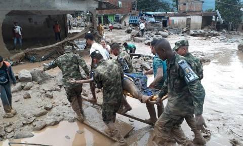 Κολομβία: Απίστευτη τραγωδία με 254 νεκρούς - Ψάχνουν στη λάσπη για επιζώντες (pics+vids)