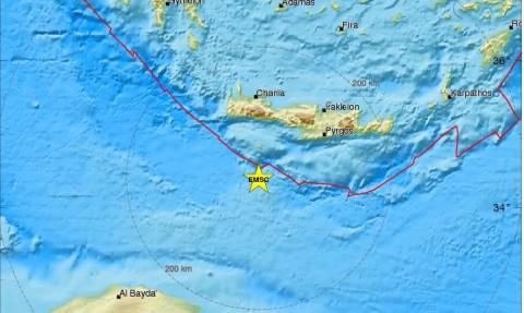 Σεισμός «ταρακούνησε» τη Γαύδο