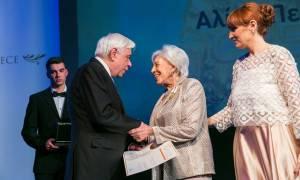 Στην Αλίκη Περρωτή το ανθρωπιστικό βραβείο των «Prix Gallien»