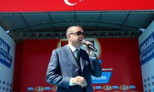Το χαβά του ο Ερντογάν: Αφήστε τα εγγόνια του ναζισμού και ψηφίστε «ναι»