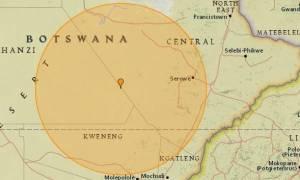 Σεισμός 6,5 Ρίχτερ συγκλόνισε την Μποτσουάνα