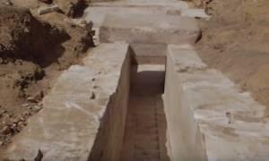 Αρχαιολόγοι ανακάλυψαν πυραμίδα ηλικίας 3.700 ετών (pics+vid)