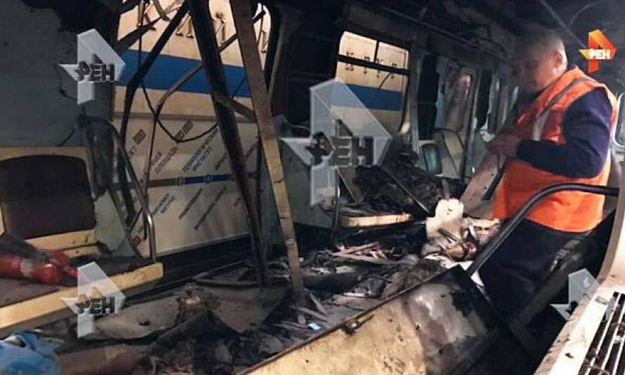 Έκρηξη Αγία Πετρούπολη: Συγκλονιστικές εικόνες από το βαγόνι – Θλίψη και ανησυχία στη χώρα