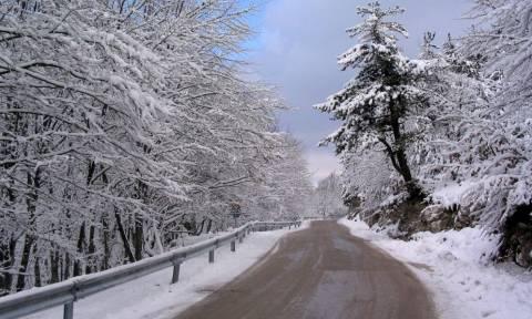 Καιρός – Απίστευτο: Δείτε ποια περιοχή της Ελλάδας «ξύπνησε» σήμερα με χιόνια