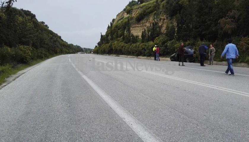 Κρήτη: Φρικτός θάνατος οδηγού στην άσφαλτο