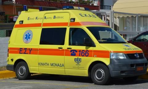 Κρήτη: Φρικτός θάνατος οδηγού στην άσφαλτο (pics&vid)