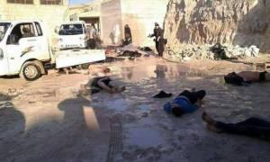 Φρίκη στη Συρία: Βομβάρδισαν την Ιντλίμπ με χημικά - 58 νεκροί (ΣΚΛΗΡΕΣ ΕΙΚΟΝΕΣ)