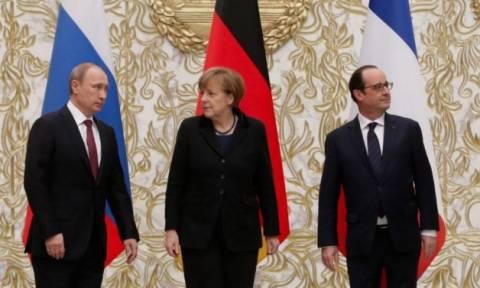 Επικοινωνία Πούτιν, Μέρκελ και Ολάντ για την καταπολέμηση της τρομοκρατίας