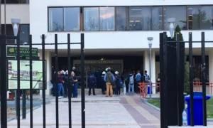 Επεισόδια μεταξύ φοιτητών και αστυνομίας στο Πανεπιστήμιο Μακεδονίας (video)