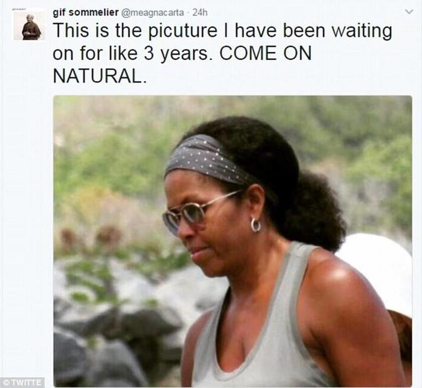 ΗΠΑ: H Mισέλ Ομπάμα έδειξε το φυσικό μαλλί της και το διαδίκτυο πήρε... «φωτιά» (pic)