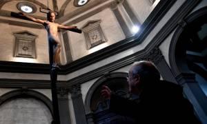 Ιταλία: Ο χαμένος Εσταυρωμένος του Μιχαήλ Αγγέλου επέστρεψε στο «σπίτι» του στη Φλωρεντία