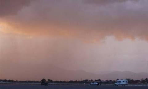 Καιρός σήμερα: Με σκόνη από την Αφρική και βροχές η Τετάρτη (pics)