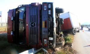 Τροχαίο στην Αθηνών - Θεσσαλονίκης: Προβλήματα στην κυκλοφορία των οχημάτων