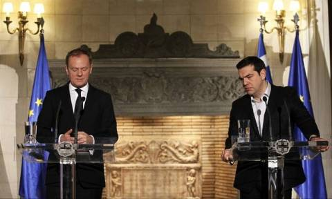 В Афины с визитом прибывает председатель Евросовета Дональд Туск