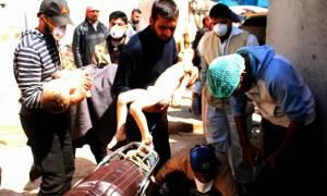 Φρίκη δίχως τέλος! Τριάντα παιδιά ανάμεσα στα θύματα της επίθεσης με χημικά στη Συρία (vid+pics)