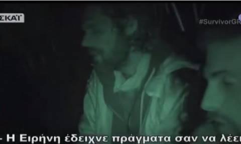 Survivor: Η στήριξη του Σπαλιάρα και των «Μαχητών» στην Παπαδοπούλου (vid)
