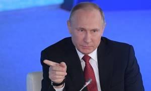 Πούτιν για Συρία: «Αβάσιμες» οι κατηγορίες για την χρήση χημικών πριν γίνει έρευνα