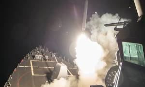 Ραγδαίες εξελίξεις: Ο Ντόναλντ Τραμπ εξαπέλυσε επίθεση με πυραύλους στη Συρία (Pics+Vids)