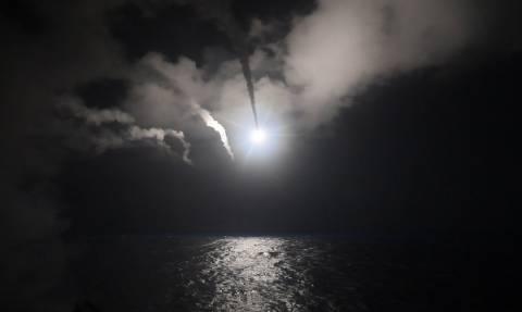 Επίθεση ΗΠΑ στη Συρία: Στις φλόγες η αεροπορική βάση Ας Σαϊράτ