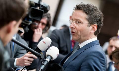Eurogroup LIVE 2017 - Ντάισελμπλουμ: Είμαι αισιόδοξος, αλλά δεν θα υπάρξει σήμερα συνολική συμφωνία