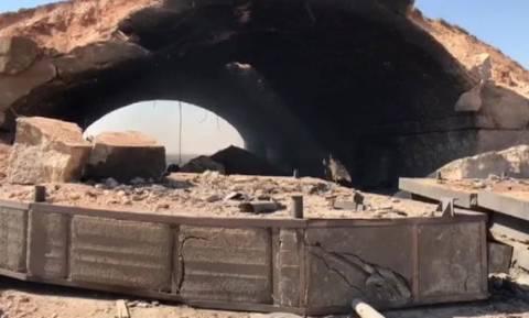 Επίθεση ΗΠΑ στη Συρία: Οι πρώτες εικόνες από τη βομβαρδισμένη αεροπορική βάση (Vid)