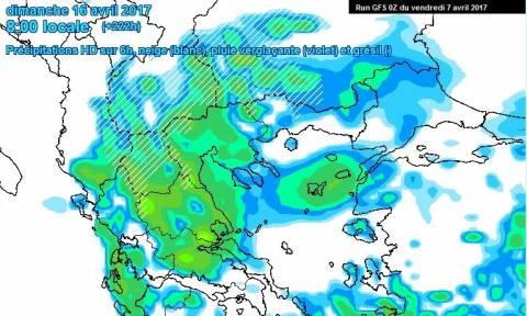 Καιρός Πάσχα: Αυτό φοβούνται Αρναούτογλου και Αρνιακός! Ερχονται ψυχρή εισβολή και χιόνια; (χάρτες)
