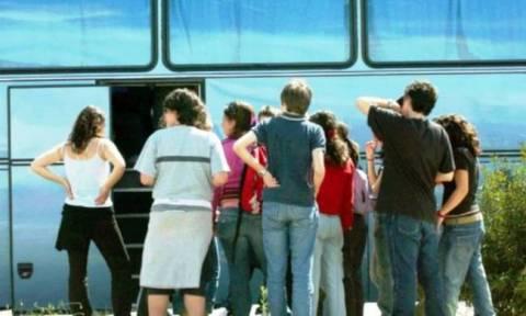 ΣΟΚ στην Κρήτη! Καθηγητής πέθανε μέσα σε σχολικό λεωφορείο!
