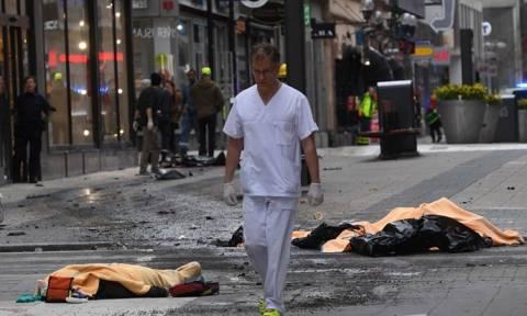 Επίθεση Στοκχόλμη: Δείτε LIVE εικόνα από το σημείο