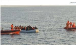 Αλβανικό πολεμικό πλοίο περισυνέλεξε μετανάστες από το Αιγαίο