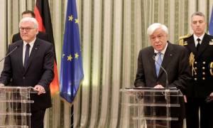 Παυλόπουλος προς Στάινμαϊερ: Η Ελλάδα παραμένει στην Ευρωζώνη με τις μεγάλες θυσίες του λαού της