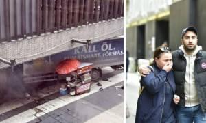 Σοκαριστικό βίντεο: Η στιγμή που το φορτηγό «θερίζει» κόσμο στη Στοκχόλμη
