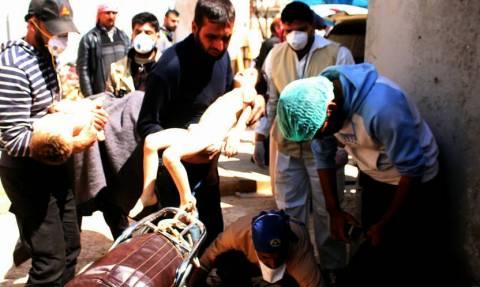 Τουλάχιστον 27 παιδιά μεταξύ των θυμάτων της επίθεσης με χημικά στο Χαν Σεϊχούν - 546 οι τραυματίες