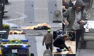 Επίθεση στην Στοκχόλμη: Ψάχνουν τον τρομοκράτη που οδηγούσε το φορτηγό