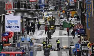Stockholm attack: Police arrest two after lorry ploughs into shop