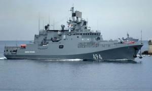Η Ρωσία στέλνει στη Συρία τη φρεγάτα «Αντμιράλ Γκριγκόρεβιτς»