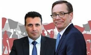 Σκόπια: Ο Ζάεφ είχε μυστική συνάντηση με τον Αμερικανό πρέσβη