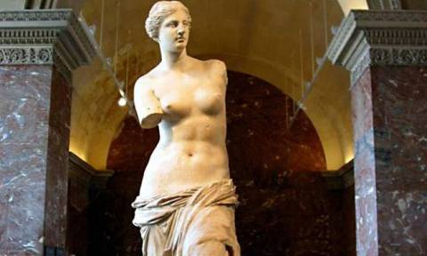 Σαν σήμερα το 1820 ανακαλύφθηκε το περίφημο άγαλμα της Αφροδίτης στη Μήλο