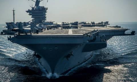 Τύμπανα πολέμου; Το αμερικανικό αεροπλανοφόρο USS Carl Vinson κατευθύνεται στη χερσόνησο της Κορέας