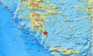 Σεισμός Τώρα στην Πελοπόννησο