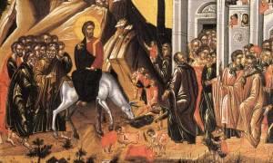 Κυριακή των Βαΐων: Γιατί θεωρείται μεγάλη γιορτή; (vid)
