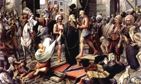 Σαν σήμερα το 1821 απαγχονίζεται ο Γρηγόριος Ε' σε αντίποινα για την Ελληνική Επανάσταση