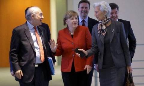 Η κορυφή της οικονομικής ελίτ στο Βερολίνο και συνάντηση Μέρκελ - Λαγκάρντ
